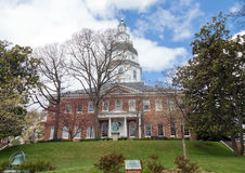 Annapolis, Maryland - Maryland State House. This is the front of the Maryland State House in Annapolis Building Stock Photography