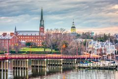 Annapolis, Maryland, USA royalty free stock photos