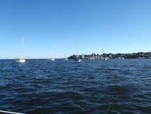 Annapolis nella baia di Chesapeake immagine stock