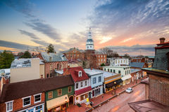 Annapolis Skyline Stock Photos