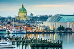 Annapolis sur le chesapeake Image libre de droits