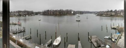 Annapoliswaterkant Stock Afbeelding