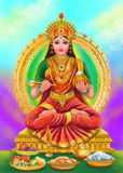 Annapoorna goddess Stock Photography