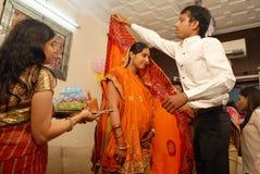 Annaprashana Rituals. Royalty Free Stock Photography