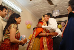 Annaprashana Rituals. Stock Photo