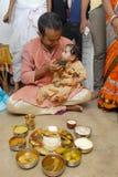 Annaprashana Rituals Stock Photo