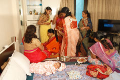 Annaprashana Rituals. Stock Image