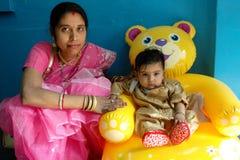 Annaprashana rituals in India Royalty Free Stock Photography