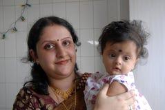 Annaprashana rituals in India Royalty Free Stock Photo