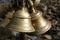 annapurna响铃muktinath寺庙 免版税图库摄影
