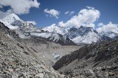 annapurna尼泊尔视图 免版税图库摄影