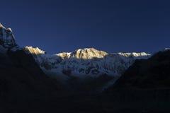 annapurna我尼泊尔 库存照片