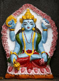 annapurna铸造的shiva寺庙 免版税库存照片