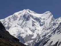 Annapurna ΙΙΙ 7555m Στοκ Εικόνα