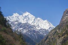annapurna ΙΙ Νεπάλ στοκ φωτογραφία