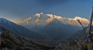 Annapurna ΙΙ Στοκ Φωτογραφίες