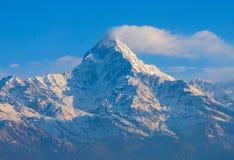 Annapurna Ιμαλάια Νεπάλ Στοκ Εικόνες
