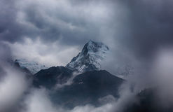 Annapurna Ι βουνά του Ιμαλαίαυ, Νεπάλ Στοκ φωτογραφία με δικαίωμα ελεύθερης χρήσης