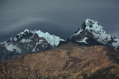 annapurna Νεπάλ Στοκ εικόνες με δικαίωμα ελεύθερης χρήσης