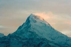 Annapurna, σειρά Himalayan στο Νεπάλ Στοκ Φωτογραφία