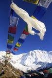 Annapurna один Непал стоковое изображение rf
