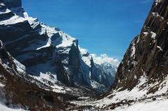 Annapurna Stockfotos