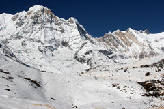 Annapurna Base Camp 2 Royalty Free Stock Images