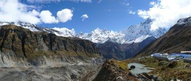 Annapurna Base Camp royalty free stock photos