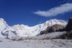 Annapurna Base Camp Clear Day Stock Photos