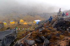 Annapurna Base Camp, Himalayas, Nepal Stock Image
