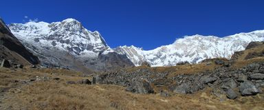 Annapurna Base Camp, Nepal Royalty Free Stock Photo
