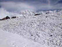 Annapurna basläger (abc:et), Nepal - Himalayas Arkivbilder