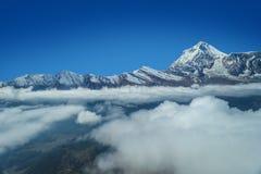 Annapurna berg Royaltyfria Bilder