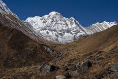Annapurna berg Nepal Royaltyfri Bild