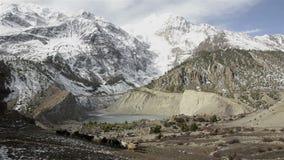 Annapurna circuit, Himalaya, Nepal stock video