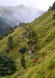 Annapurna Circuit Trek in Pokhara, Nepal royalty free stock photos