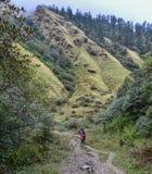 Annapurna Circuit Trek in Pokhara, Nepal royalty free stock images