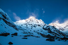 Annapurna del sud fotografie stock