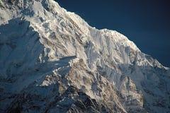 Annapurna del sur (Nepal) Foto de archivo