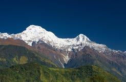 Annapurna Gebirgszug Lizenzfreies Stockbild
