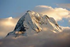 Annapurna Himalaya, Nepal Fotografering för Bildbyråer
