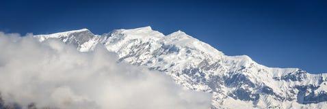 Annapurna Himalaya peaks Stock Image