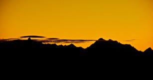 Annapurna, Himalayagebergte, Nepal Stock Foto's