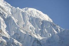 Annapurna, Himalayan-waaier in Nepal Stock Afbeeldingen