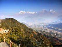 Annapurna Himalayas Nepal Stock Photos