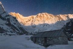 Annapurna I Imagenes de archivo
