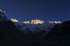 Annapurna I - Il Nepal Fotografie Stock