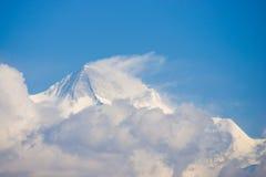 Annapurna IV:: όμορφο βουνό χιονιού σε Annapurna Himalayan Ρ Στοκ Εικόνες