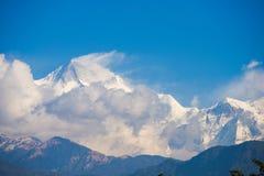 Annapurna IV:: όμορφο βουνό χιονιού σε Annapurna Himalayan Ρ Στοκ Φωτογραφίες