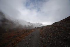 annapurna krajobrazowy Nepal Obrazy Royalty Free
